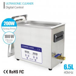 6.5L Ultrasonic Cleaner Machine ultrasound Solution Jewelry Circuit Board Gun Parts