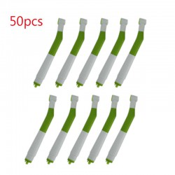 50Pcs Dental 4 Holes Disposable High Speed Handpiece Dentist Essential Tool