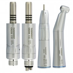 Yusendent COXO CX235-B Inner Water Low Speed Contra Angle Air Motor Straight Handpiece Kit