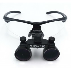 Dental Surgical Binocular Loupes 2.5X420mm Optical Glass DY-101