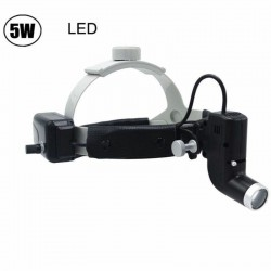 5W Surgical Dental LED Headlight Headband Light Lamp Good Light Spot ENT