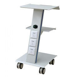Mobile Steel Cart Trolley Trolly Spa Salon Equipment for Doctor Dentist