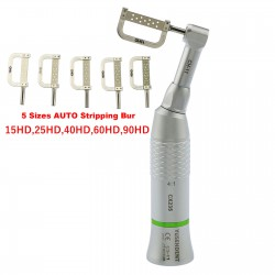 YUSENDNET COXO Dental 4:1 Contra Angle Handpiece Interproximal EVA IPR + 1Pc Striping Bur