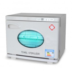 Dental Lab Equipment UV disinfection cabinet sterilizer with electric drying function 18L