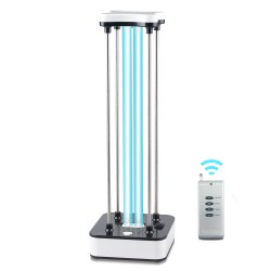 36W UV Sterilizer Timer Remote Control Ultraviolet Light Ozone UVC Ozone Disinfection Lamps