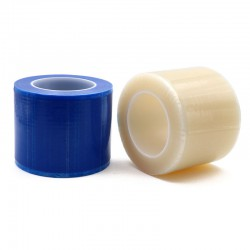 "6 Rolls Dental Barrier Film Sticky Wrap Clear or Blue 4"" x 6"" (1200 Sheet)"