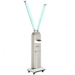 FY 120W-220W Portable UV+Ozone Disinfection Lamp Stainless Steel Trolley