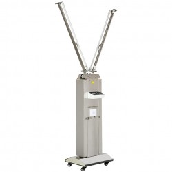 FY Portable UV+Ozone Disinfection Lamp Stainless Steel Trolley With Infrared Sensor 120W-220W