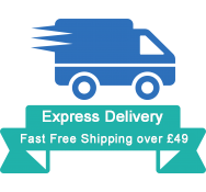 Express Delivery:Fast Free Shipping over £49